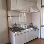 アパートのキッチン改修工事完了