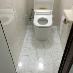 ユニットトイレの改修