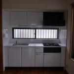 システムキッチン設置工事