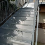 浦添市 階段目隠し